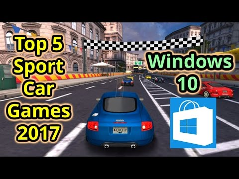Top 5 Sport Car Games 2017 For Windows 10