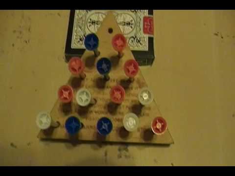 Solution To The Jump All But One Peg Game