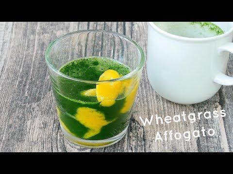 Wheatgrass Affogato