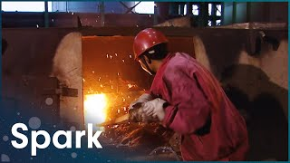 A Closer Look At China's Iron And Steel Production | The Earth's Riches | Spark
