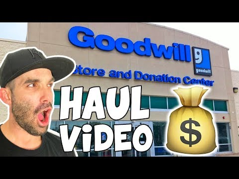 Goodwill Outlet Haul Video | I Shouldnt be Doing This 🤠 | Reselling Shoes on Ebay for Profit