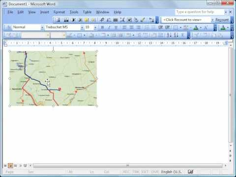 Printing online maps clearly quickly