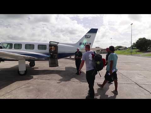 Hurricane Relief: Camping at Tortola Airport
