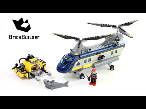Lego City 60093 Deep Sea Helicopter - Lego Speed Build