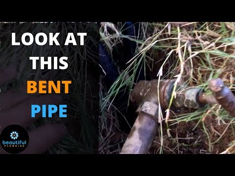 Do You Have a Bent Water Meter Pipe? You See What Happened
