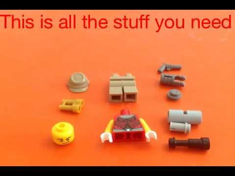 LEGO:TF2 how to build scout