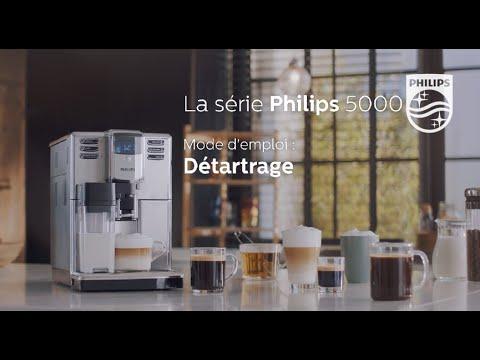 Philips EP5365 machine à espresso Série 5000 Comment détartrer la machine