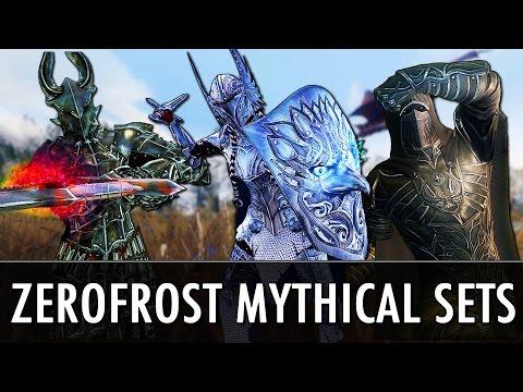Skyrim Mod: Zerofrost Mythical Armors & Dragon
