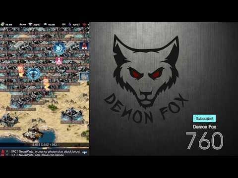 Mobile Strike - Demon Fox Live Stream (replay) - Samurai Trap Gameplay / Q&A
