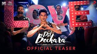 Dil Bechara (Title Track) - Official Teaser   Sushant Singh Rajput   Sanjana Sanghi   A.R. Rahman