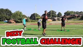 HILARIOUS 2 VS 2 DIZZY FOOTBALL CHALLENGE!! *WORST IDEA EVER??*