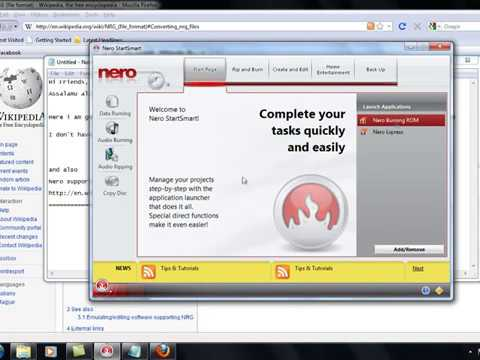 Make bootable disk from nrg/iso file, convert nrg to iso.mp4