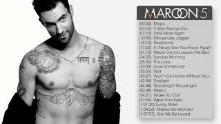 The best songs of Maroon5