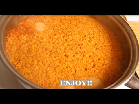 Easy, fast, simple, step by step MEXICAN RICE RECIPE/ Receta facil de Arroz rojo paso a paso