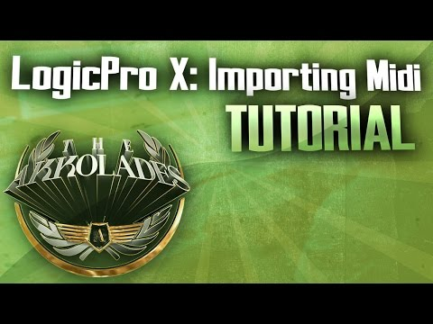 How To Import Midi Files in Logic Pro X