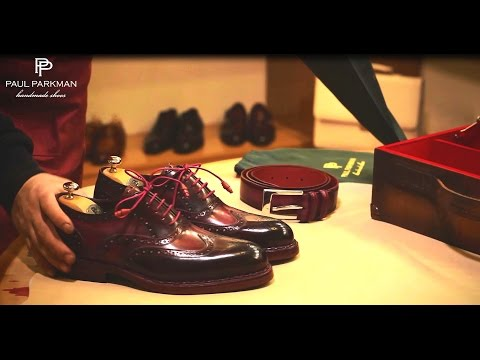 Paul Parkman Handmade Shoes for Men - How to Make Goodyear Welted Shoes
