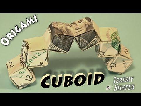 Origami Dollar Cuboid