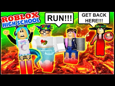 ESCAPING DETENTION FROM THE BULLY TEACHER!! | Roblox High School | Bully Teacher Roblox Roleplay