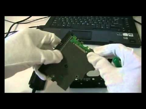 How to repair a completely dead hard drive with fried circuit board