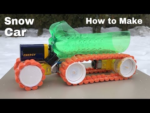 How to Make a Car for Snow - Mini Electric Truck