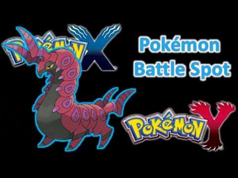 Pokémon X Y Battle Spot with Speed Boost Scolipede