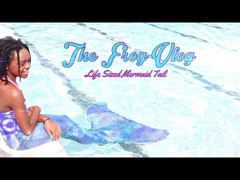 DIY - The Frog Vlog: We make a Life Sized Mermaid Tail - Handmade - Doll - Crafts
