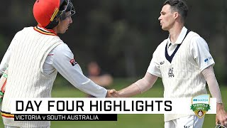 Cooper posts 277 as bat-a-thon ends in draw | Marsh Sheffield Shield 2019-20