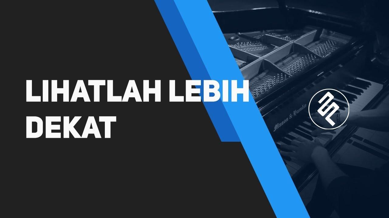 Download Sherina - Lihatlah Lebih Dekat Piano Cover Instrumental Synthesia / Chord / Lirik / Tutorial MP3 Gratis