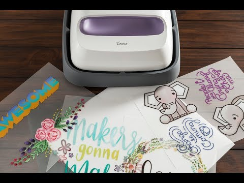New EasyPress Bundle in Wisteria With Iron On Designs