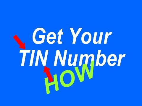 TIN Facilitation Centre How Can I Get TIN Number