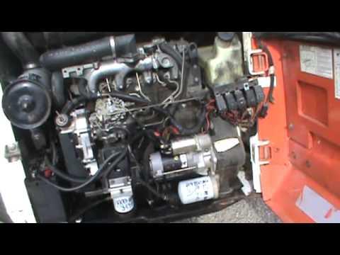 1995 Bobcat 853 843 High Flow Skid Steer Loader For Parts Isuzu Diesel For Parts For Sale