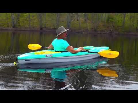 Pelican 100 Kayaks, wicked fun