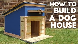 How To Build A Dog House Modern Builds Ep 42