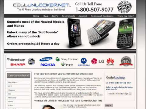 How to Unlock your Blackberry for Free promotion, Free Blackberry unlock code