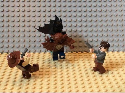 Lego Batman S1 E3: Batman Vs Manbat