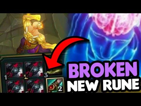 PRESEASON MOST OP NEW RUNE & BUILD (ABUSE BEFORE IT GETS NERFED)