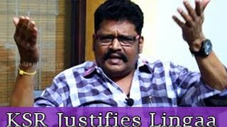 Download KS Ravikumar's reply to people who post Negative Review on Lingaa Climax   Interview Video