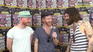 BIFFY CLYRO  Interview - ROCK IN IDRO 2014 DAY 4