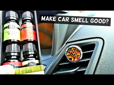 HOW TO MAKE YOUR CAR SMELL GOOD