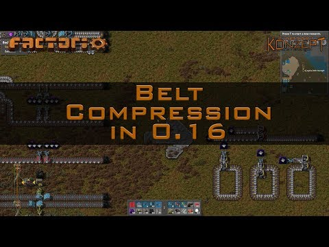 Belt Compression in Factorio 0 16 - PlayingItNow: All the