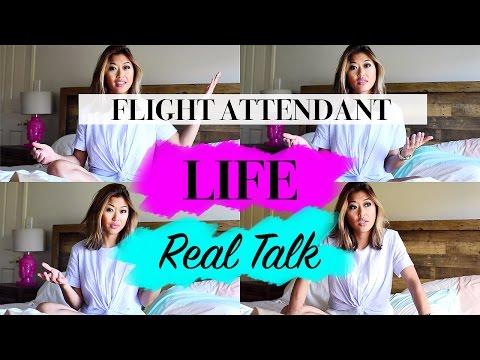 Real Talk : Life as a Flight Attendant