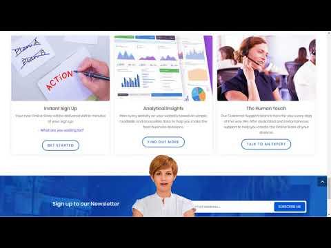Online Store with Online Shop Builder   Create Online Shop Website in Ireland