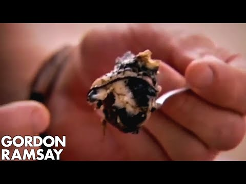 Gordon Ramsay Eats Unborn Duck Foetus in Cambodia