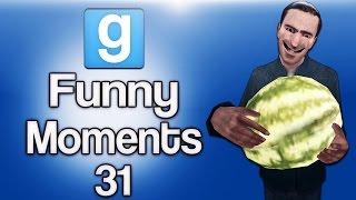 Gmod Ep. 31 Hide & Seek (Best spot ever!, Watermelon Fun Zone!!!)