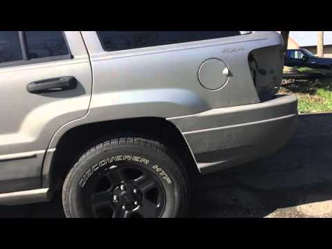 Jeep Grand Cherokee Water Leak Fix
