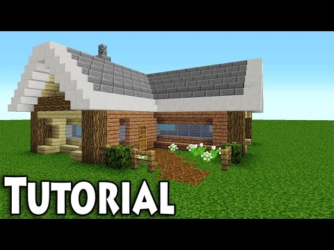 Minecraft: How to Build a Cool & Small Easy Survival House / Tutorial
