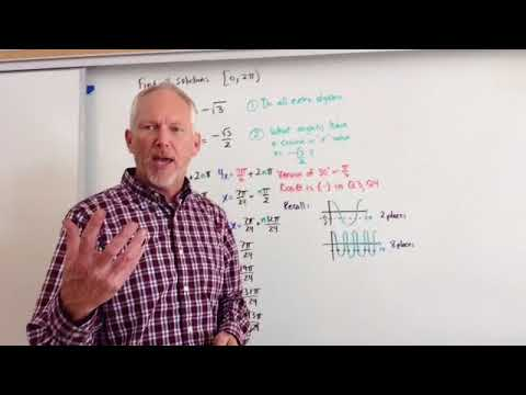Solving Trig Equations with 2npi