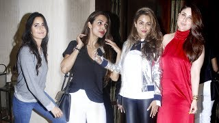 Bollywood Celebs At Manish Malhotra