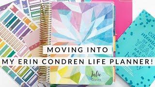 SET UP | Erin Condren 2019-2020  Life Planner!