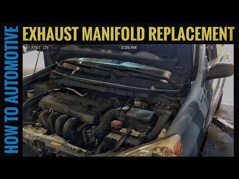 How to Replace the Exhaust Manifold on a 2006 Toyota Matrix